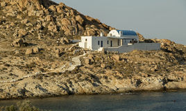 Chapel In Serifos Island Royalty Free Stock Image
