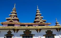 Chapel Shan Style in Wat Nong Kok Kam Royalty Free Stock Photo