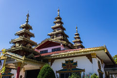 Chapel Shan Style in Wat Nong Kok Kam Royalty Free Stock Images