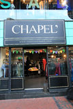 Chapel shop in hong kong Stock Photography