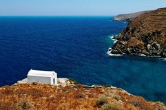 Chapel on Sifnos island Stock Image