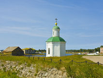 Chapel on Solovki island, Russia Royalty Free Stock Images