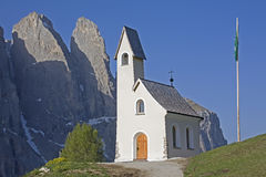 Chapel in South tyrol Stock Photos