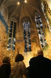 Miquel Barcelo chapel in mallorca cathedral. Chapel by spanish Painter and sculpter Miquel Barcelo  inside palma de mallorca cathedral Stock Photography