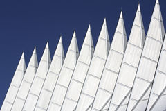 Chapel Spires against blue sky Royalty Free Stock Photography