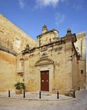 Chapel St. Agatha in Mdina.  Malta Stock Photos