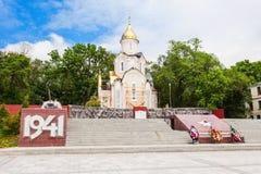 Chapel St. Andrew, Vladivostok Royalty Free Stock Images