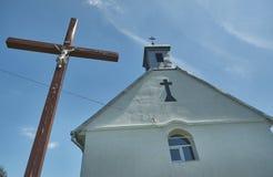 Chapel of St. Anna village Glebovichi, Stock Photography