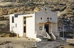 Chapel of St. Anne on Gozo island. Dwejra Bay. Malta Stock Photo