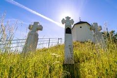 Chapel of St. Anne on Vysker Stock Photo