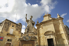 Chapel of St. Catald in Rabat. Malta.  Royalty Free Stock Image