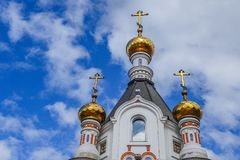 Chapel of St. Catherine at the Labor square in Ekaterinburg 2018.  Stock Images