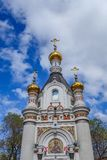 Chapel of St. Catherine at the Labor square in Ekaterinburg 2018.  Stock Photography