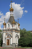 Chapel of St. Catherine at the Labor square in Yekaterinburg Stock Photos
