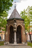 Chapel of st. Cross in Zagreb. ZAGREB, CROATIA - April 12, 2014 - Chapel of st. Cross in Zagreb, Croatia Stock Photography