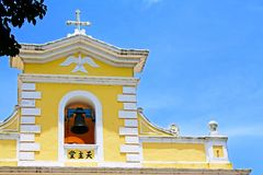 Chapel of St. Francis Xavier, Macau, China. Chapel of St. Francis Xavier is a church located in Coloane, Macau, China. The chapel, built in 1928, is located on Royalty Free Stock Images