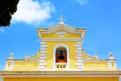 Chapel of St. Francis Xavier, Macau, China. Chapel of St. Francis Xavier is a church located in Coloane, Macau, China. The chapel, built in 1928, is located on Stock Photo
