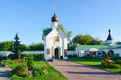 Chapel of St. George Victorious in Holy Transfiguration Monastery Stock Images