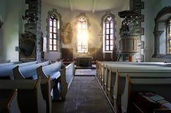 Chapel St. Jaohannisberg near castle Dhaun Germany. Chapel St. Johannisberg Germany near Castle Schloss Dhaun Royalty Free Stock Photo
