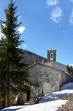 Chapel st jean du desert, france. A place of pilgrimage, department of Alps of high Provence, France Royalty Free Stock Photography