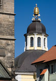 The Chapel of St. Kliment - Hradec Kralove. The Chapel of St. Kliment, located on Velke (Big) square in the historical centre of the town Hradec Kralove. This Royalty Free Stock Photos