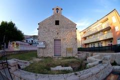 Chapel of St. Mark in Baska,sland Krk,Croatia Stock Image