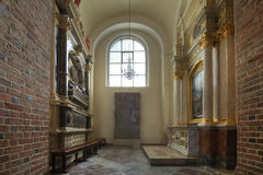 Chapel of St. Martin in the Cathedral in Poznan Royalty Free Stock Photo