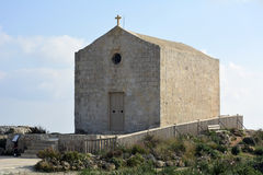 Chapel of St Mary Magdalene, built in the 17th century, in Dingli Royalty Free Stock Photo