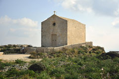 Chapel of St Mary Magdalene, built in the 17th century in, Malta. Stock Photos