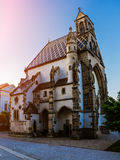 Chapel of St. Michael in Kosice Stock Images