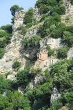 Chapel of st. Michele at Berat Stock Images