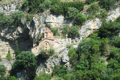 The chapel of St. Michele at Berat Royalty Free Stock Photography