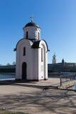Chapel of St. Olga in Pskov Stock Photography