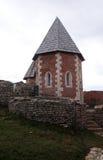 Chapel of St. Philip, Medvedgrad castle in Nature Park Medvednica in Zagreb. Croatia Stock Photo
