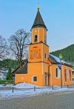 Chapel of St. Sebastian in Garmisch-Partenkirchen Royalty Free Stock Photo
