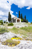 Chapel St. Sixte near Eygalieres Stock Photos