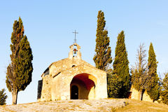 Chapel St. Sixte, Provence Stock Photography