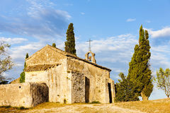 Chapel St. Sixte, Provence Royalty Free Stock Photography