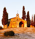 Chapel St. Sixte, Provence Royalty Free Stock Photos