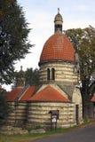 Chapel of St Wenceslas in the village Vlci, Czech republic Stock Image