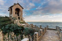 Chapel Stella Maris - Alassio Italy Royalty Free Stock Photography