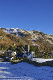 Chapel Stile village in Winter Stock Photography