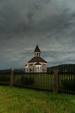Chapel after storm Royalty Free Stock Photo