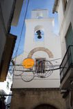 Chapel in the Stylish Town of Marbella on the Costa del Sol Spain Stock Photography