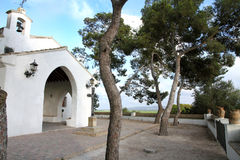 Chapel in Sueca,Valencia,Spain Royalty Free Stock Photo