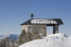 Chapel at the Summit Royalty Free Stock Images