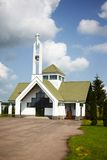 Chapel in Suodziai village Royalty Free Stock Photography