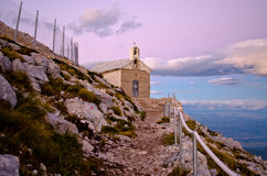 Chapel of sv. Jure in Biokovo park, Croatia Stock Photos