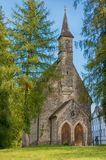 Augustinian Chapel in Men`s island, Chiemsee Royalty Free Stock Image