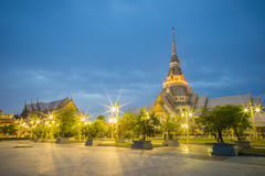 Chapel of Thai temple Stock Images